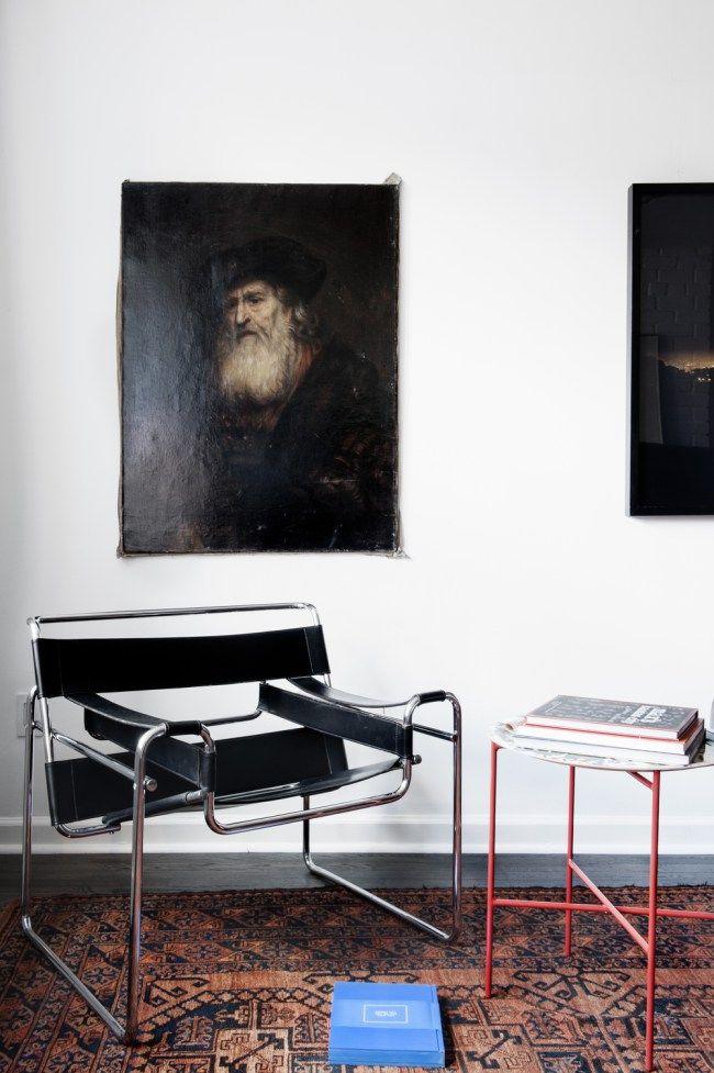 Old World Meets Modern Scandinavian Design House Of Valentina Scandinavian Design House Bauhaus Interior Wassily Chair