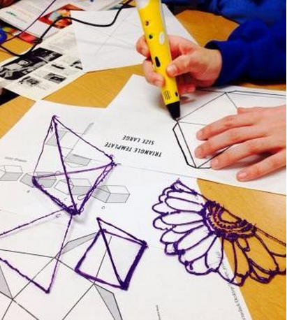 Working With 3d Pens In The Classroom Ties To Math Art History Science Business Etc 3d Pens 3d Pen Art Pen Projects