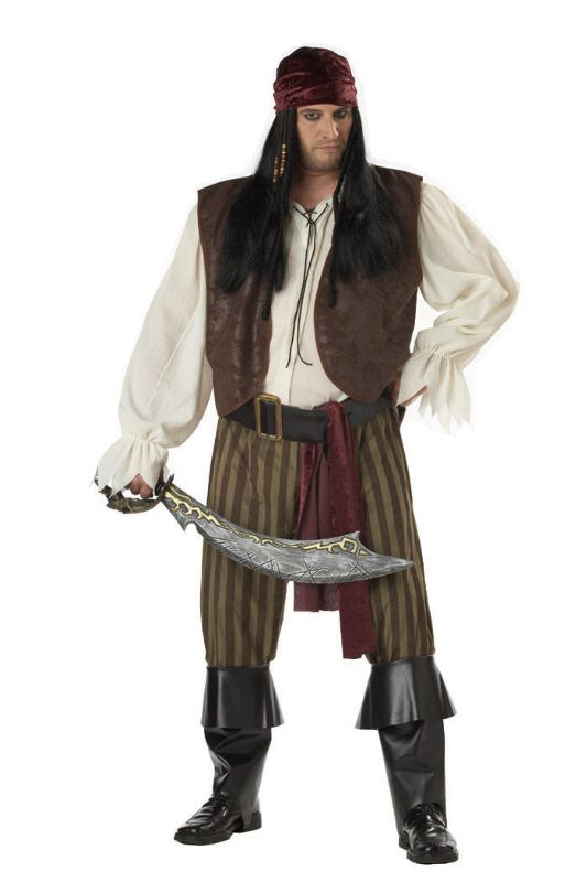 Plus Size Rogue Pirate Costume #pirates #pirateparty #Halloween #costumes