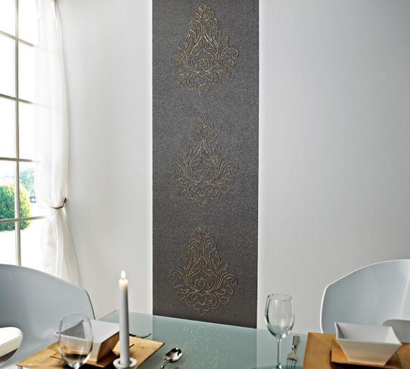 Große Muster, bunte Designs, das trifft nicht jedermans Geschmack. Not to much, denn weniger ist manchmal so viel mehr. A.S Creation Nobile http://www.borsch-info.de/