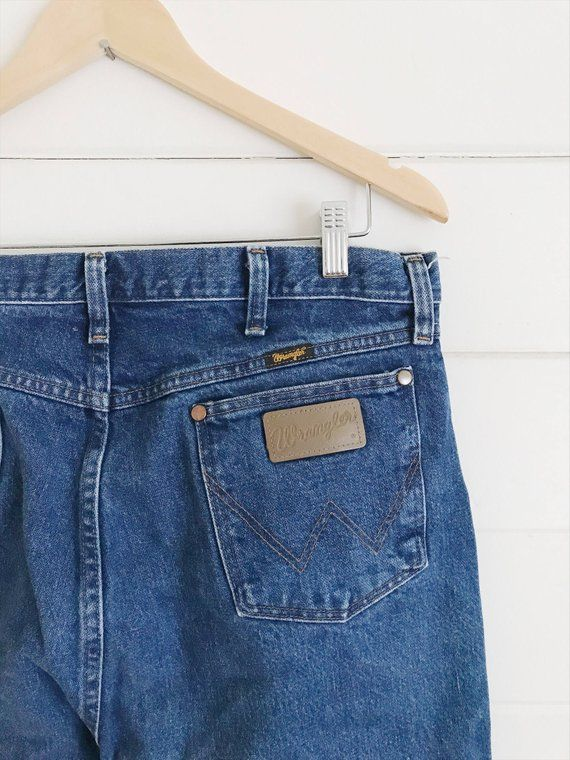 64f1907a Wrangler straight leg vintage jeans - Size 35 x 36 | Products ...