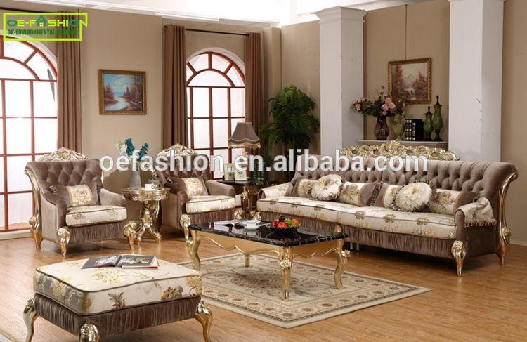 European Style New Classical High Grade Velvet 1234 Combination