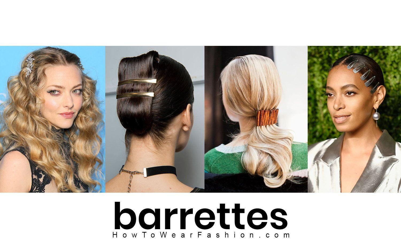 barrettes | hair accessories | clip hairstyles, hair styles