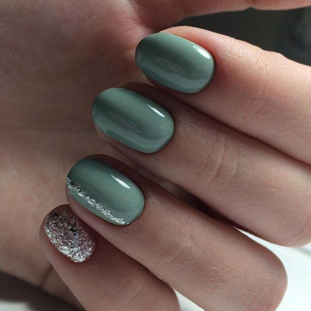 30 Stunning Manicure Ideas For Short Nails Autumn 2018
