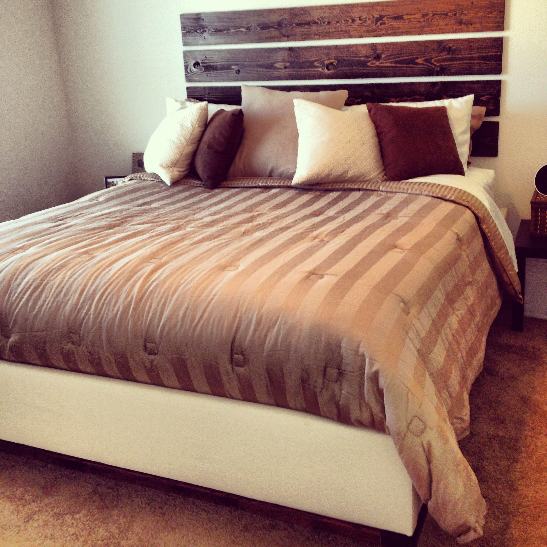 Bed frame and headboard diy cheap diy headboard home