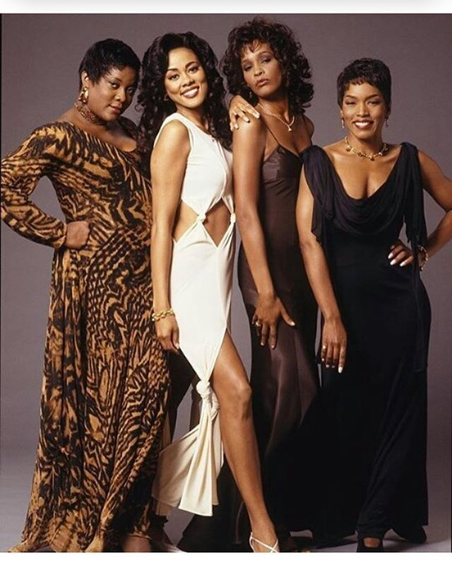 "The Best of WCW: The cast of ""Waiting to Exhale"" #WOWWednesday ..."