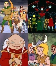 Pin By Yvonne Myers On Growing Up Dungeons And Dragons Cartoon
