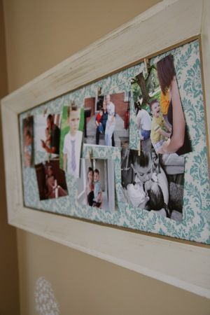 Clothesline Photo Display Clothesline Photo Display Photo Displays Picture Frame Crafts