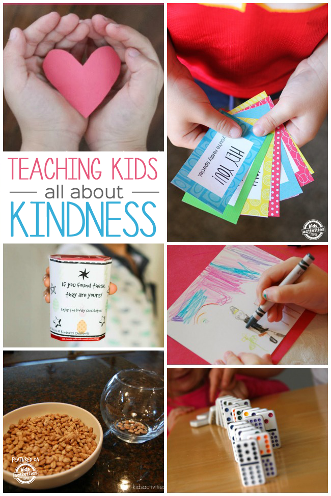 55+ Kindness Activities for Kids   Kindness activities ...