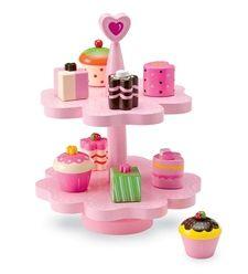 Pretend Play Cupcake Stand