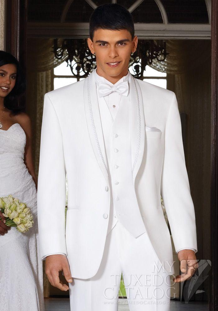 White And Gold Wedding Reception El Rey Tuxedo