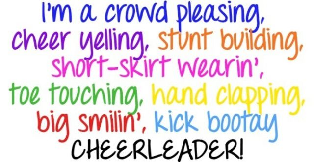 Cheer quotes | Cheerleading | Funny cheerleading quotes ...