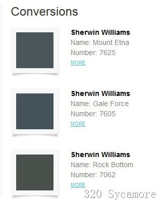 Sherwin Williams Paint Colors That Come Closest To Farrow Ball S Downpipe