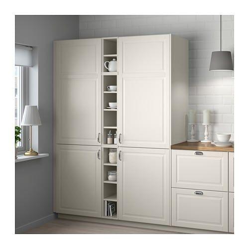 Senza dimenticare i mobili alti con ripiani che possono essere. Tornviken Oppet Skap Off White 20x37x80 Cm Ikea White Kitchen Pantry Cabinet Open Cabinets Pantry Cabinet Home Depot
