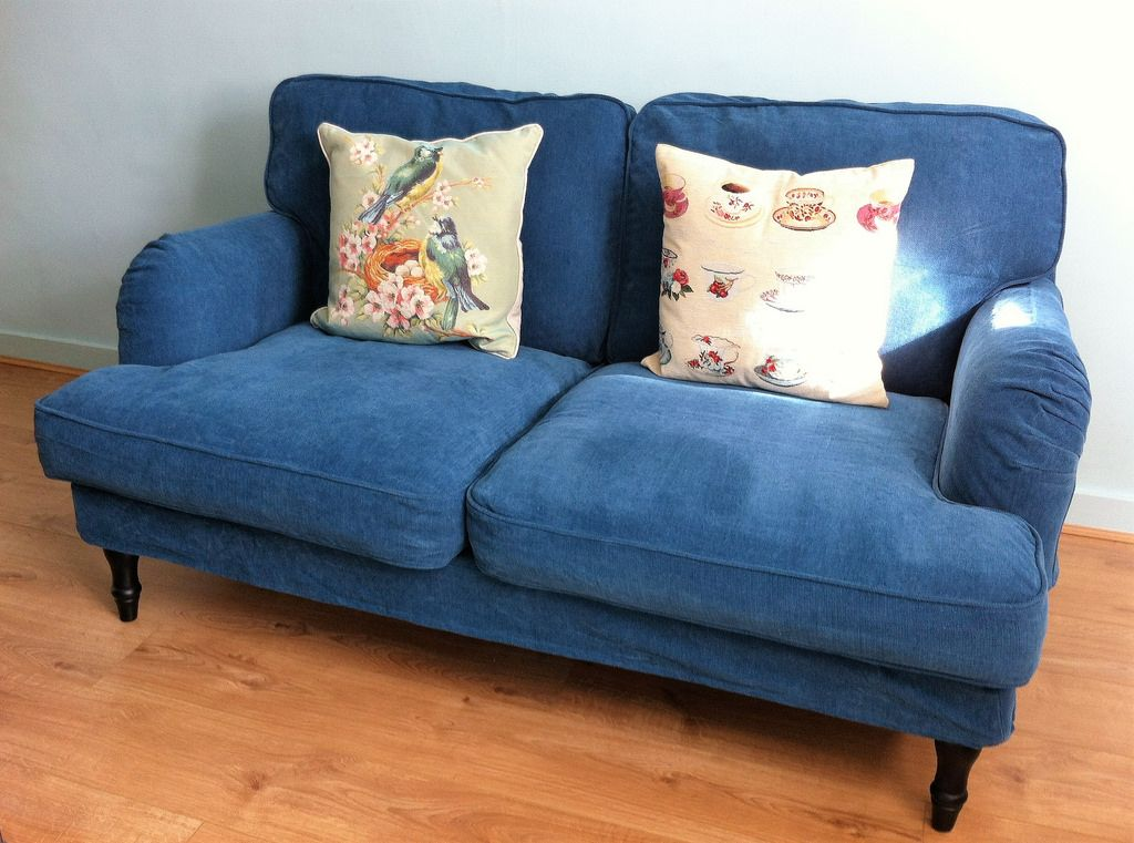 ikea stocksund chair covers xrocker gaming image result for sofa blue | living room pinterest rooms and