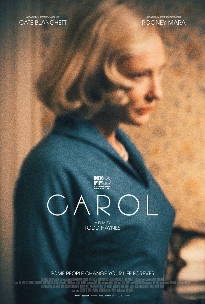 Sarah Paulson v2 Rooney Mara - Kate Blanchett Carol Movie Poster 24x36