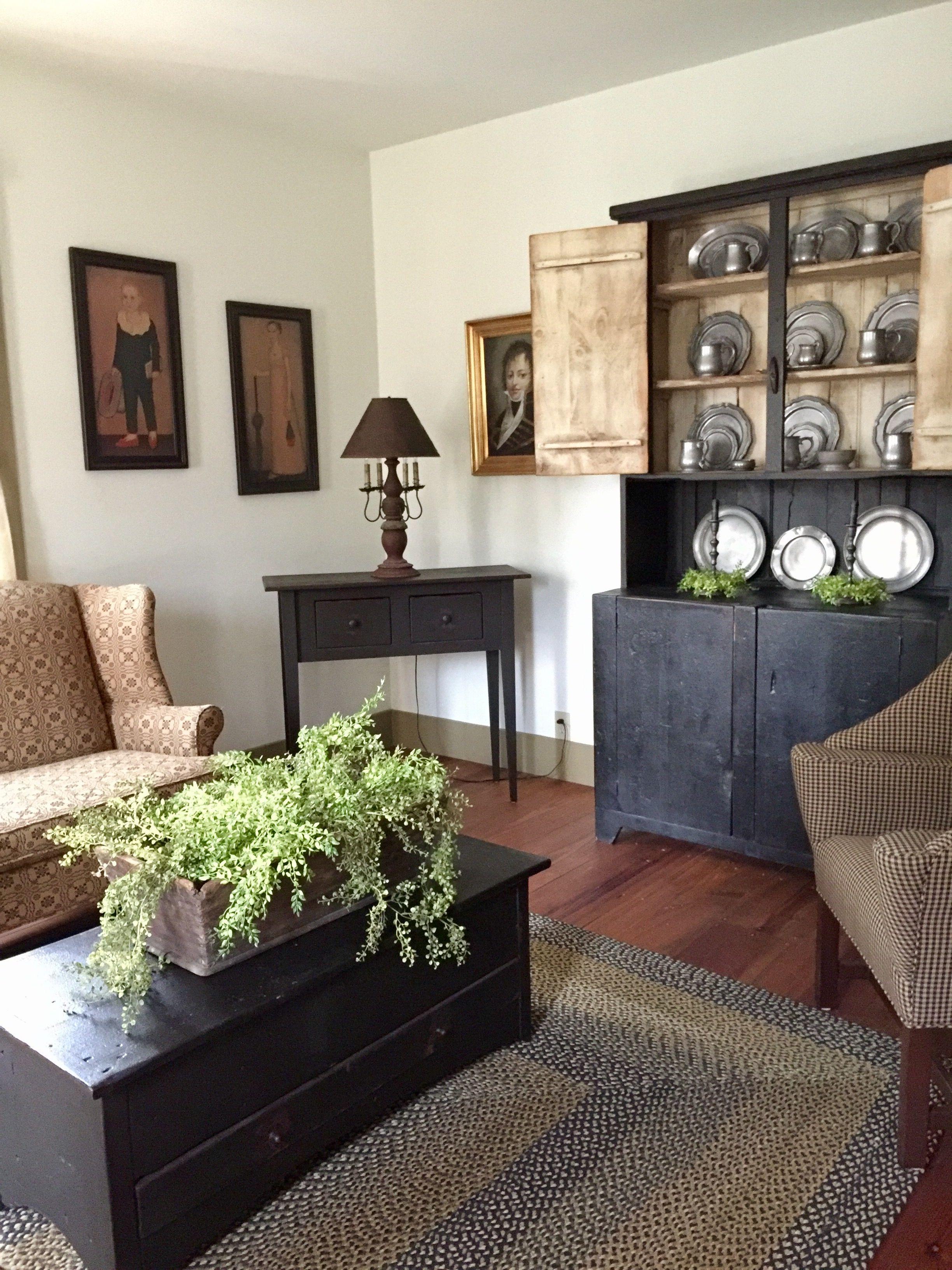 Primitive Living room Pinterest