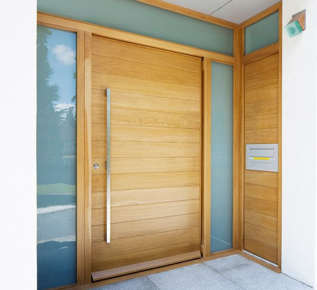 Modern Garage Doors In An Astonishing Protection: Furniture, Teak Wood Contemporary Front Doors Inspiration
