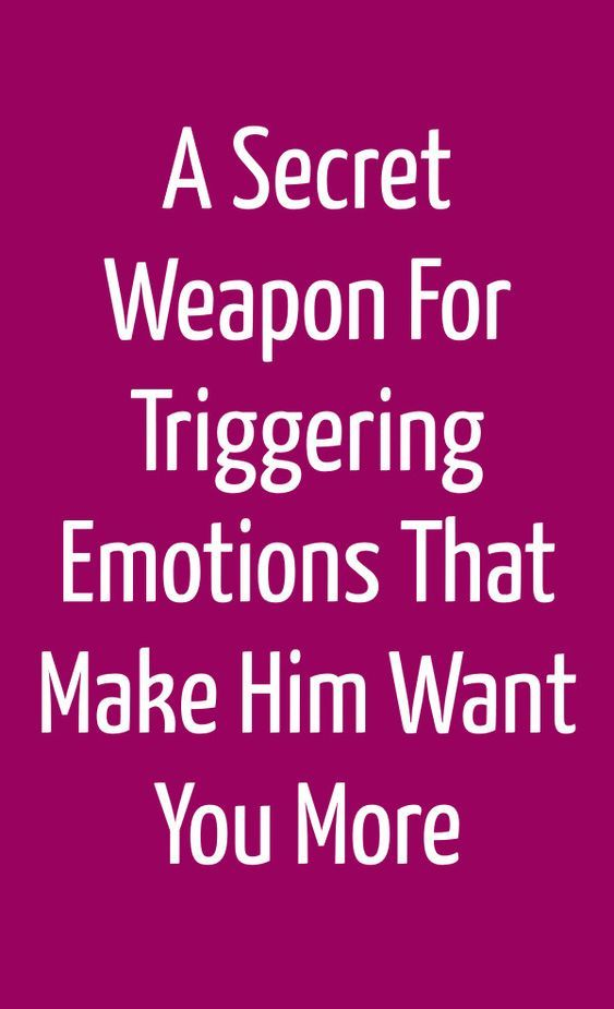 A Secret Weapon For Triggering Emotions That Make
