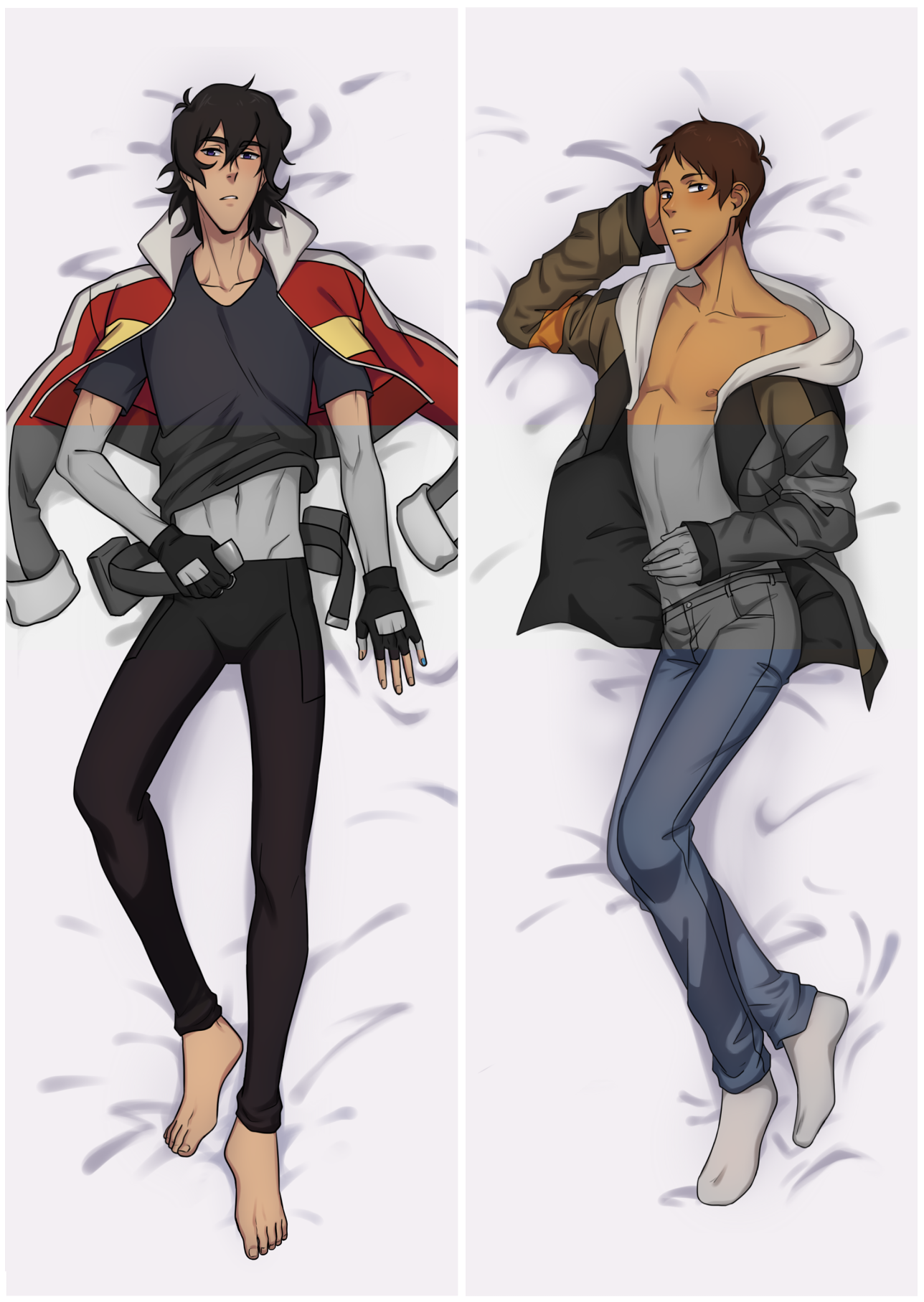 50x150cm peach skin material pillow case of Lance and Keith  *DOES