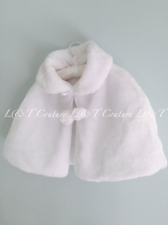 Hey, I found this really awesome Etsy listing at https://www.etsy.com/uk/listing/481272560/girls-faux-fur-cape-girls-white-fur-cape