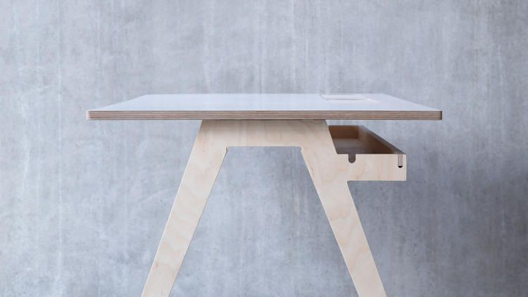 9 | The Humble Wooden Desk Meets The Internet Of Things | Co.Design | business + design