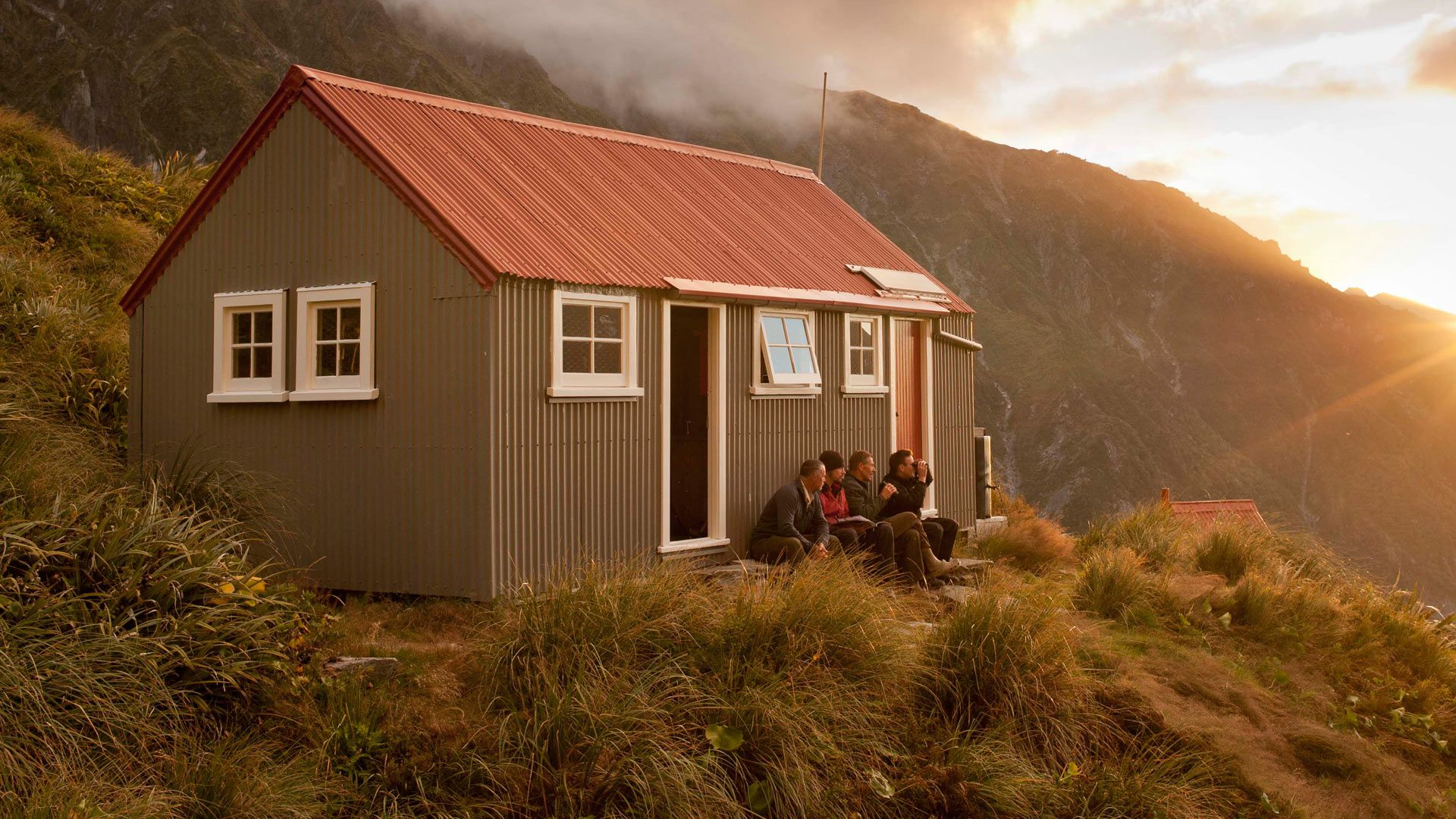 there are a range of accommodation options in conservation places