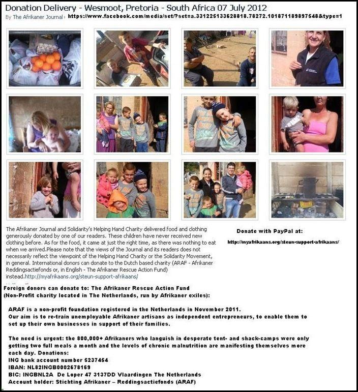 Afrikaans Kids Die Of Hunger Pretoria South Africa Africa Pretoria Kids