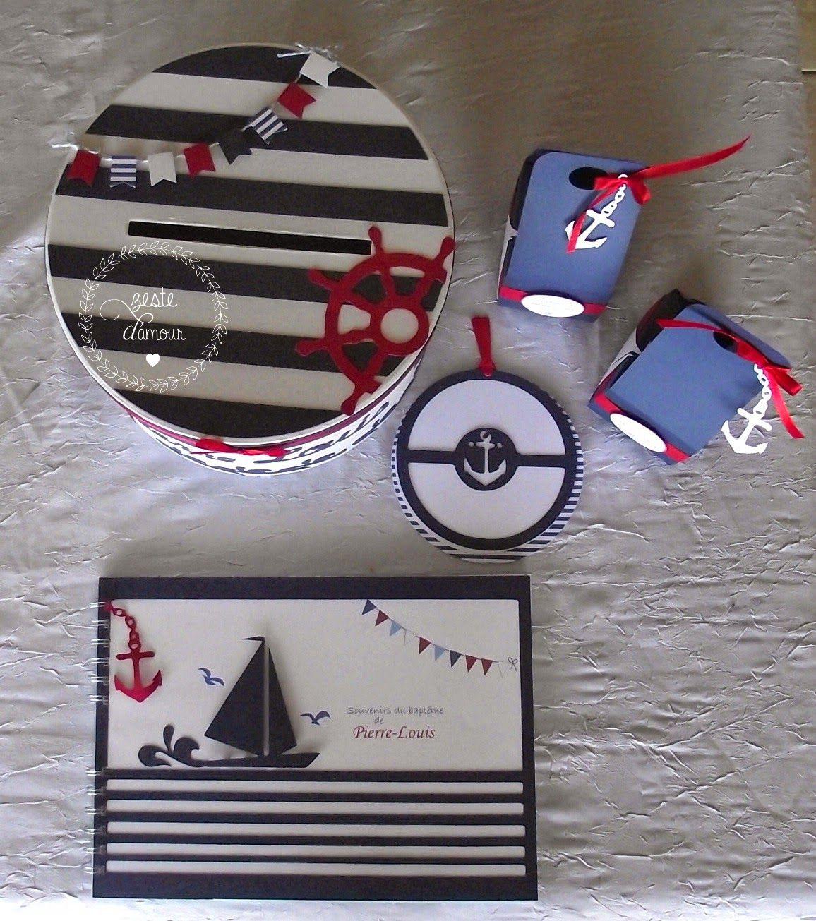 Très Un baptême marin  Faire part , urne, cadeau invité | MY WORK  GZ73