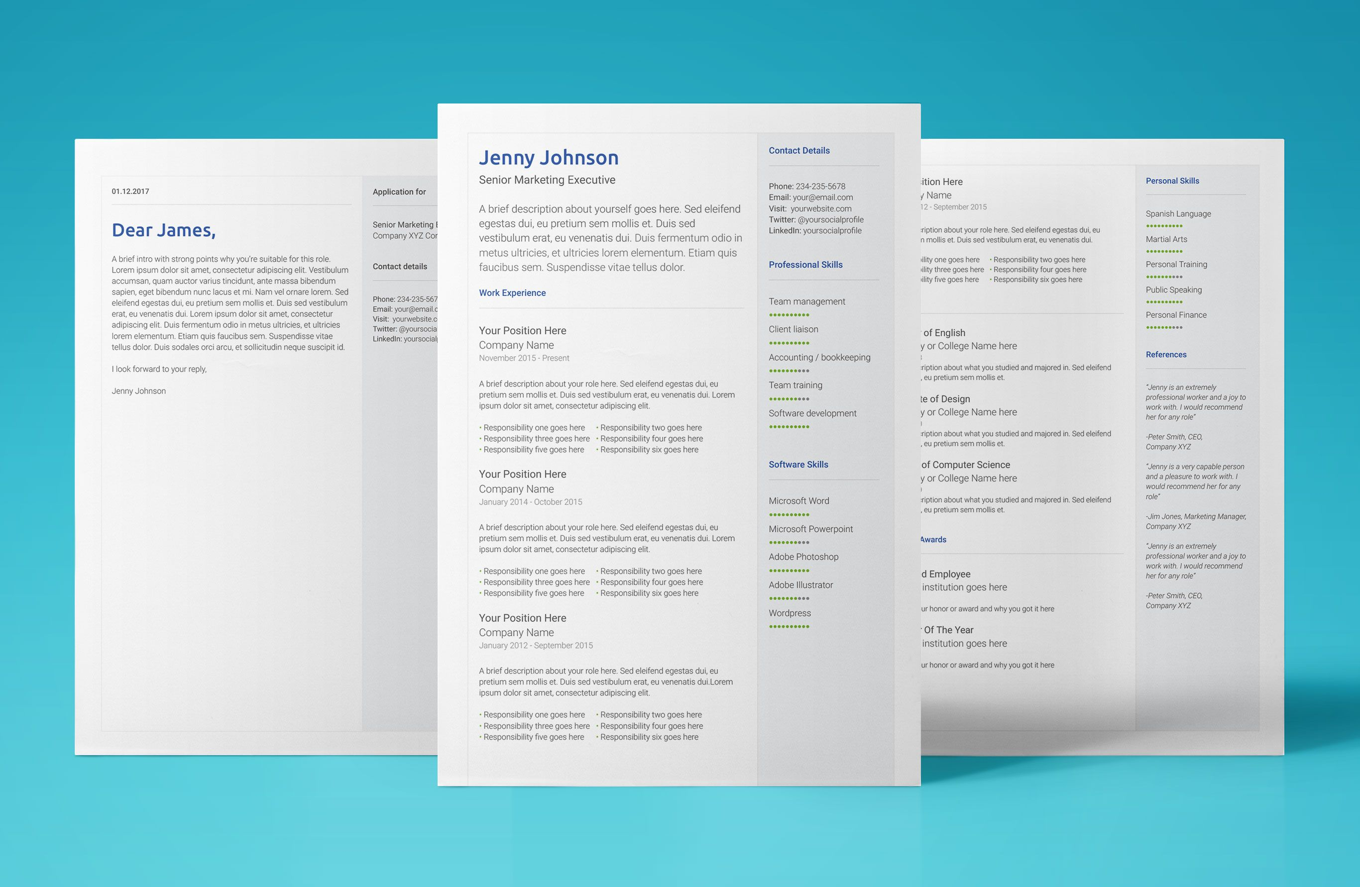 Free Google Docs Resume Template Download & Use Now