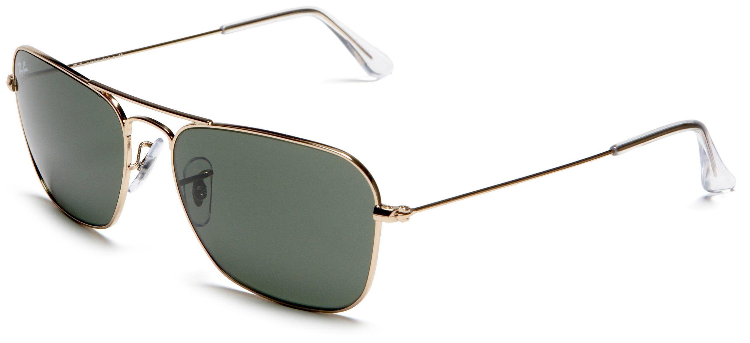 15b23c916d9 Amazon.com  Ray-Ban RB3136 Caravan Sunglasses 55 mm
