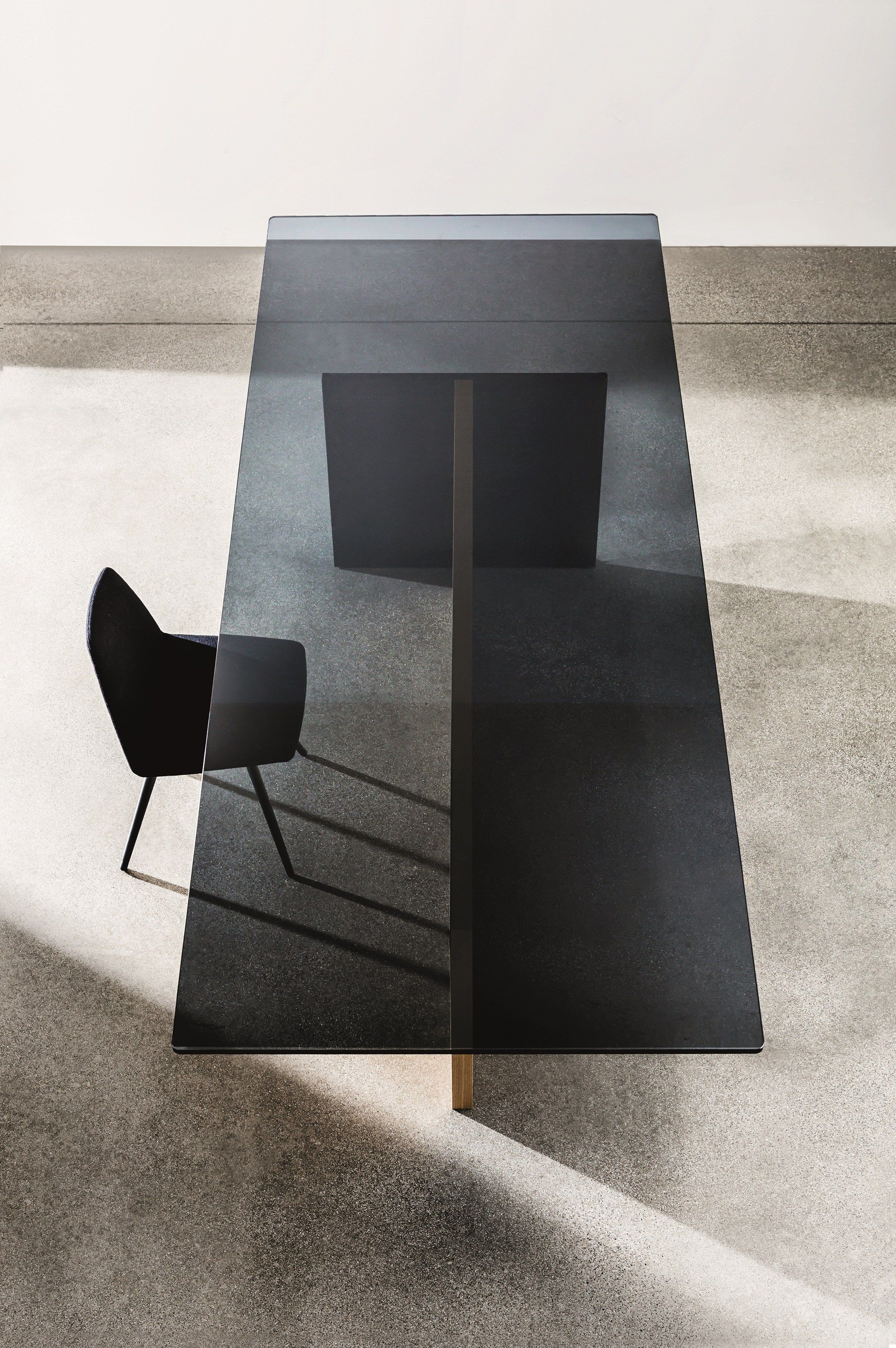 Charmant Rectangular Wood And #glass #table REGOLO By @sovetitalia