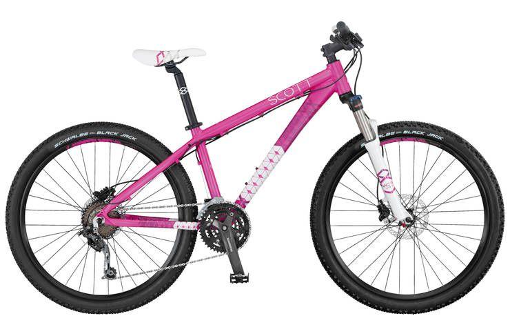 Deore gears  100mm travel =0 | Scott Contessa 610 2014 Women's Mountain Bike | Evans Cycles