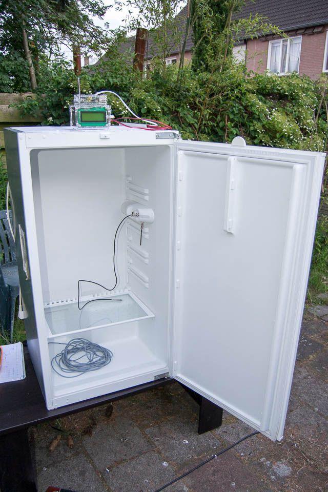 Fridge hacking guide converting a fridge for fermenting