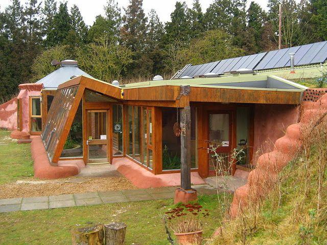earthships les maisons en mat riaux recycl s serre de jardin maison maison cologique et. Black Bedroom Furniture Sets. Home Design Ideas