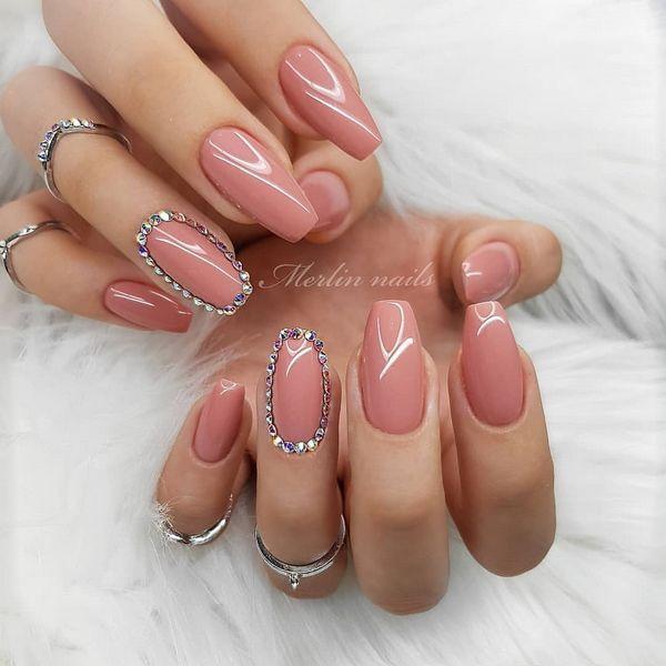 50 Easy Gel Nail Art Designs Trends Ideas 2020 Flymeso Blog Gel Nail Art Designs Cute Summer Nail Designs Metallic Nails Design