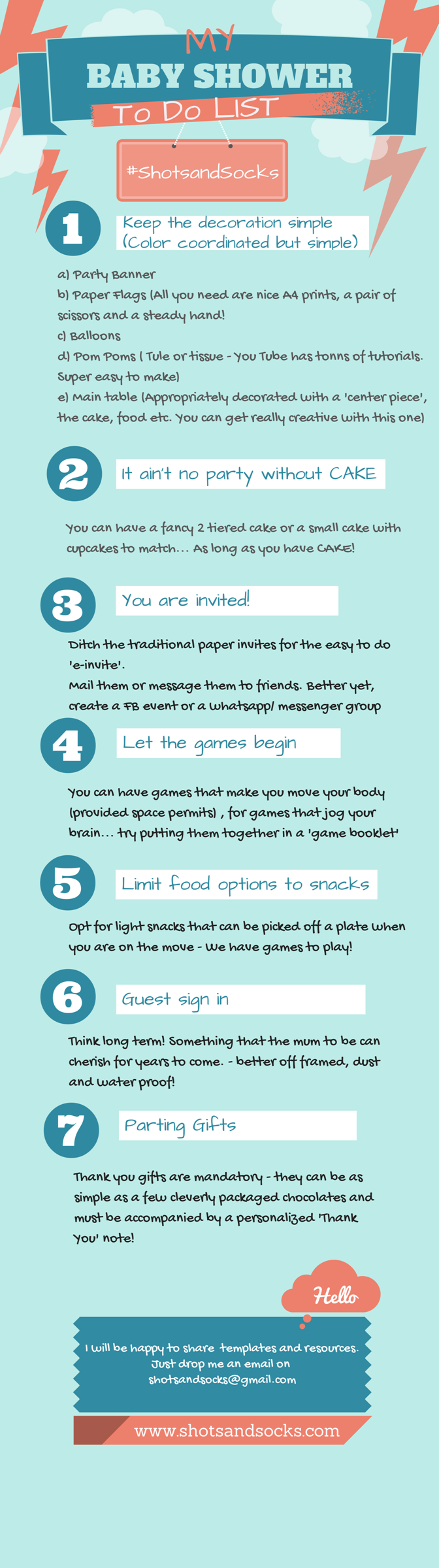 Baby Shower To Do List Nadia And Tracys Baby Shower Pinterest