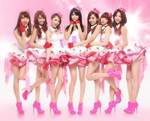 Asian chicks group pics