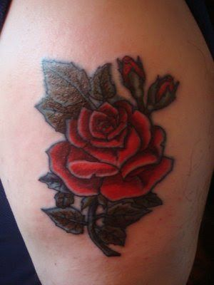 beautiful rose tattoos for women Classic style with