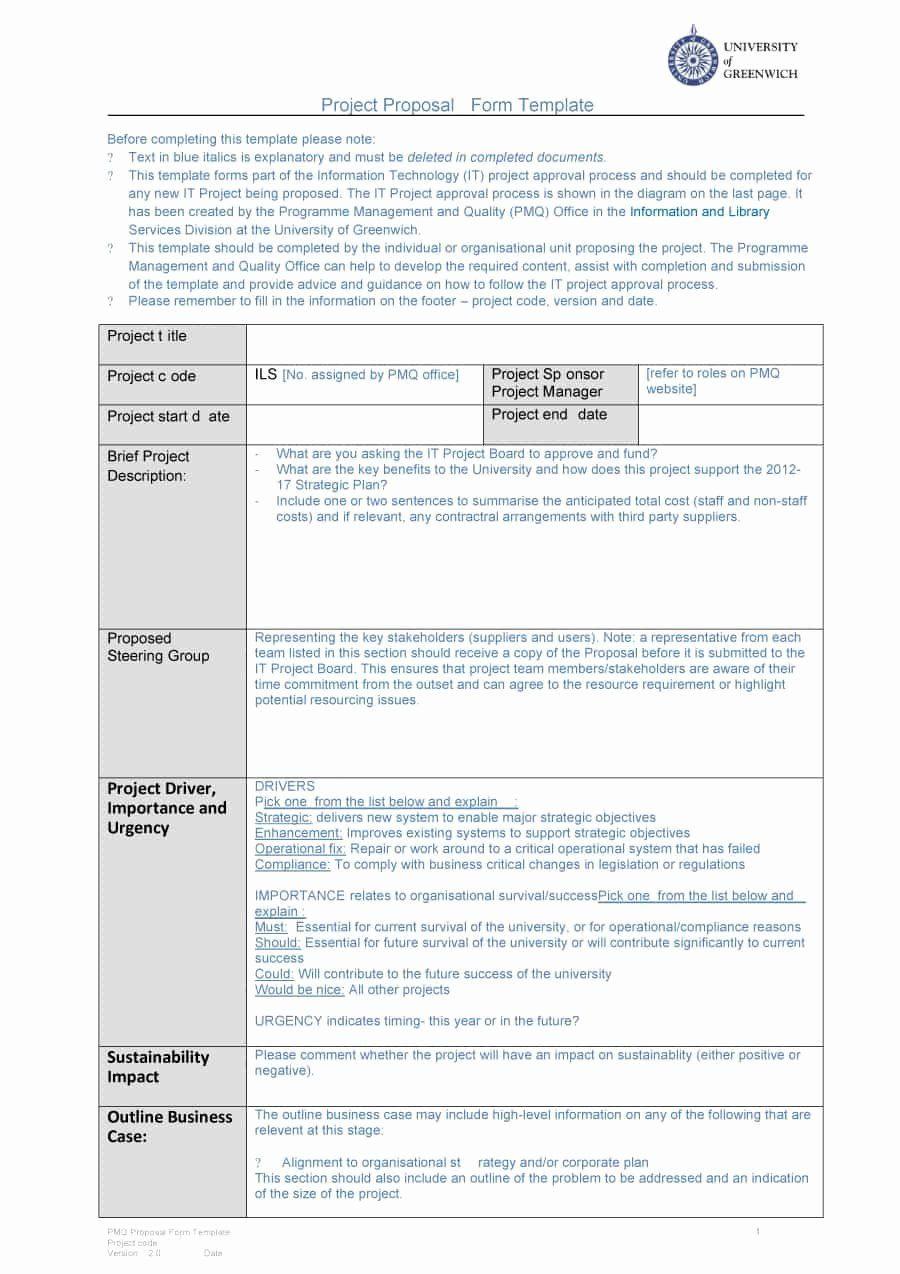 Corporate Video Proposal Template Beautiful 43 Professional Project Proposal Templates Proposal Templates Project Proposal Template Business Proposal Template