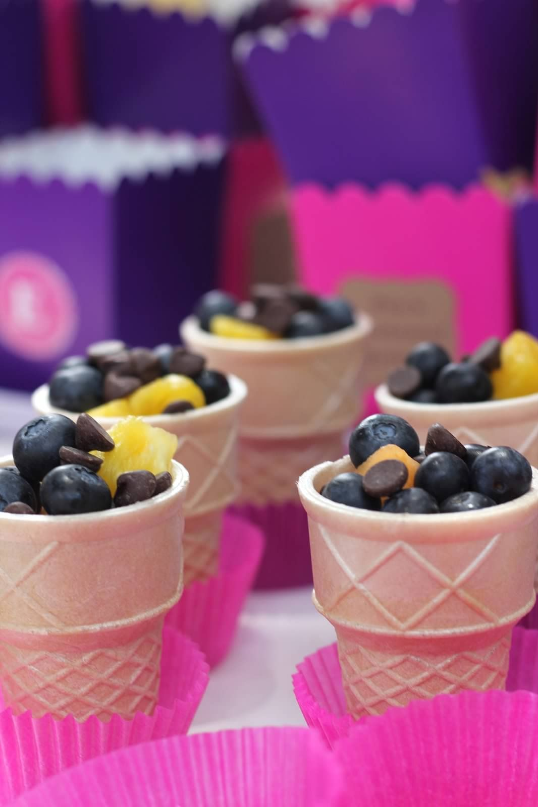 Enchanted Birthday: Fruit Cups