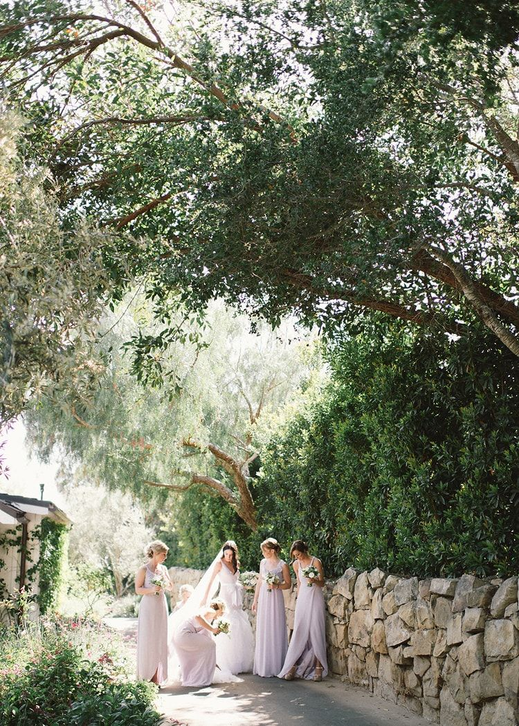 Lavender and Lilac Inspired Outdoor Wedding in California  Once Wed