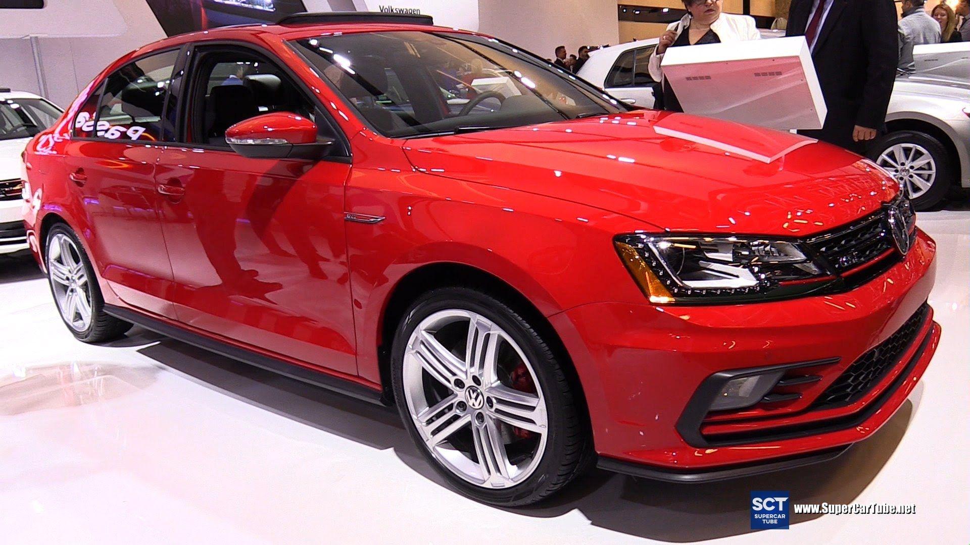 2016 Volkswagen Jetta Gli Exterior And Interior Walkaround 2016 Montreal Auto Show Jetta Gli Volkswagen Jetta Volkswagen
