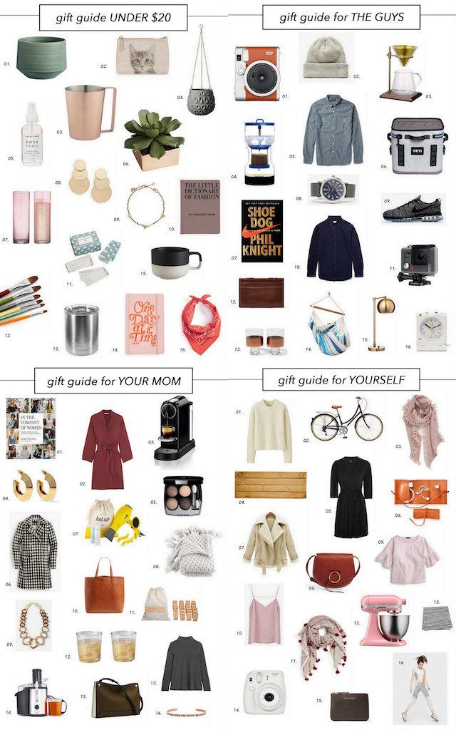 The Only Gift Guide You Need This Holiday — The Ef