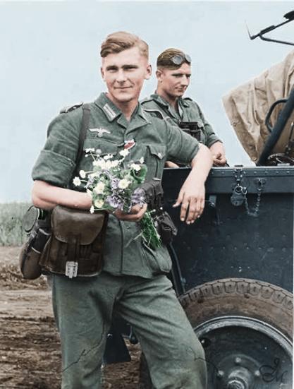 Deutsch Soldaten Wwii Pinterest