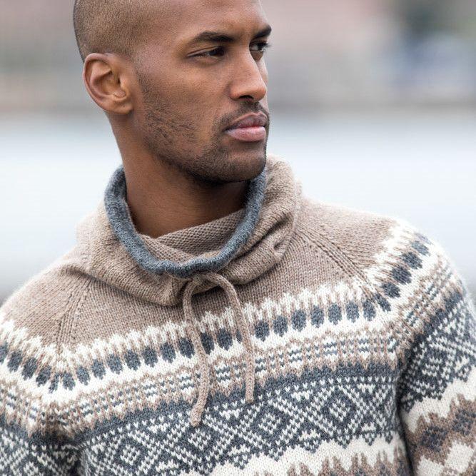 DSA70 11 Filip genser brun | Du Store Alpakka