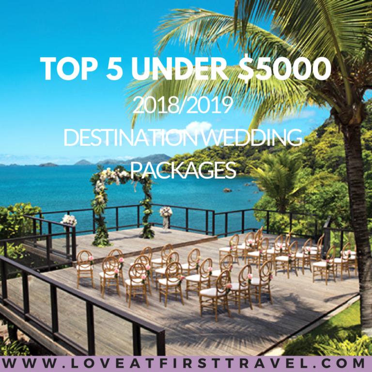 5 Wedding Packages Under 5000 Destination Wedding and