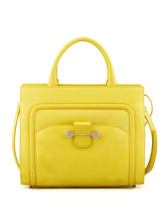 Daphne 2 Leather Crossbody Bag Yellow By Jason Wu At Neiman Marcus