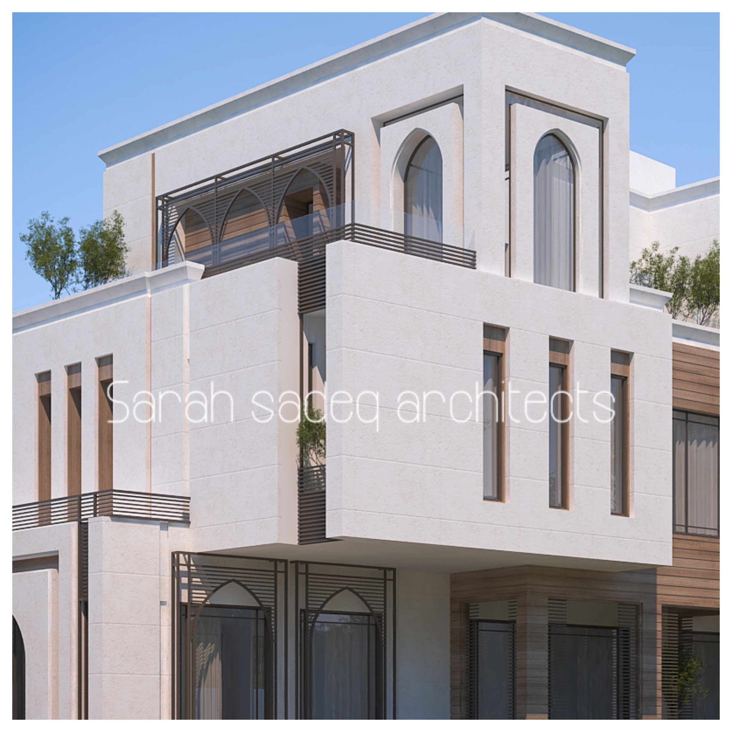 pleasing islamic design house usa. Private villa  kuwait Sarah sadeq architects Facade HouseHouse ExteriorsChalet DesignHouse DesignIslamic sarah