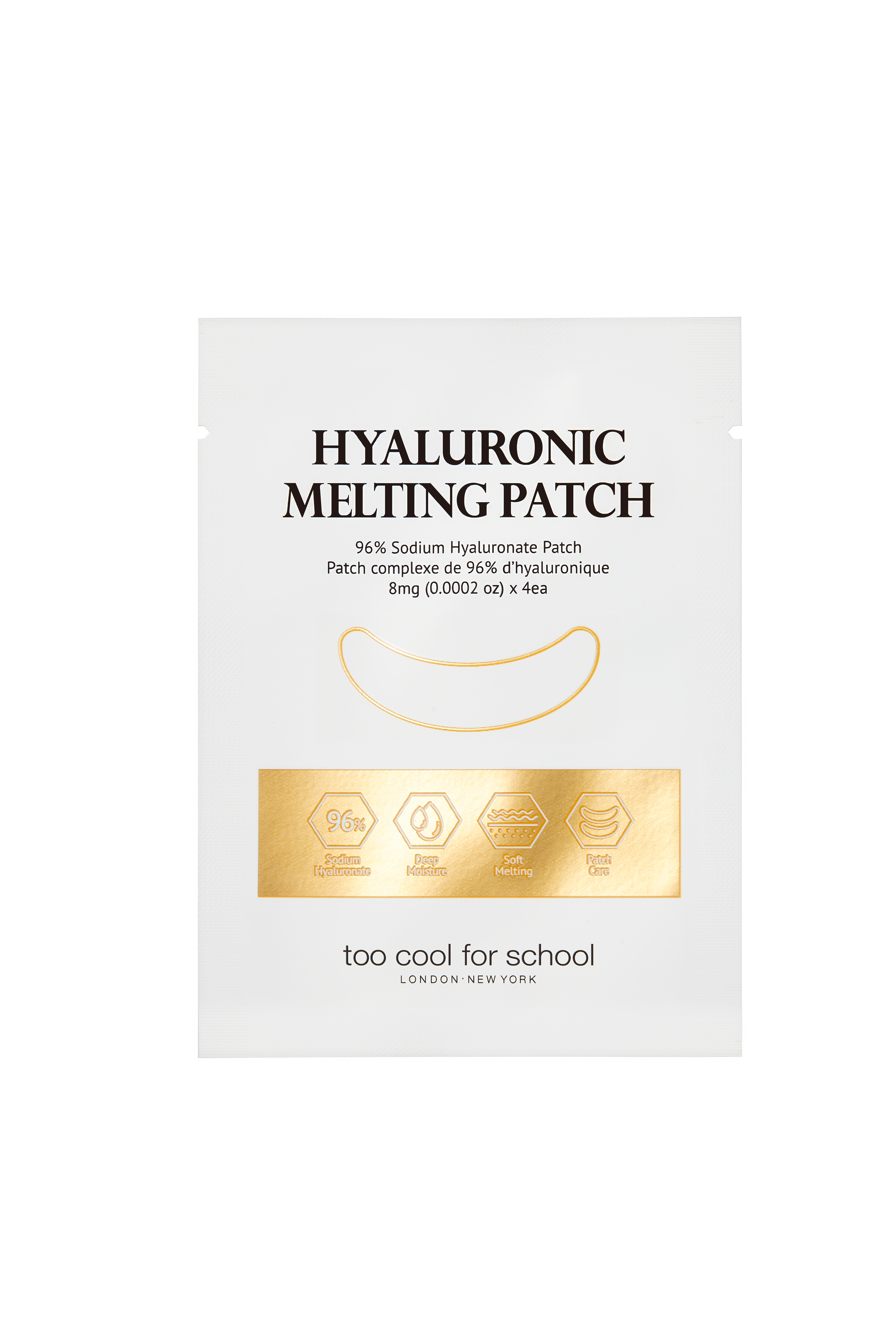 Egg Collagen Hyaluronic Melting Patch In 2020 Too Cool For School Collagen Patches